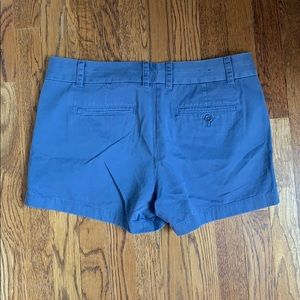 J. Crew Shorts - Jcrew Blue 4' stretch chino shorts